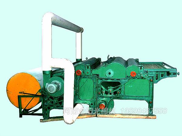 6MTB2500一次成型吸尘弹花机